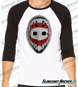 Ken-Dryden-Montreal-Goalie-Mask-raglan-black-white