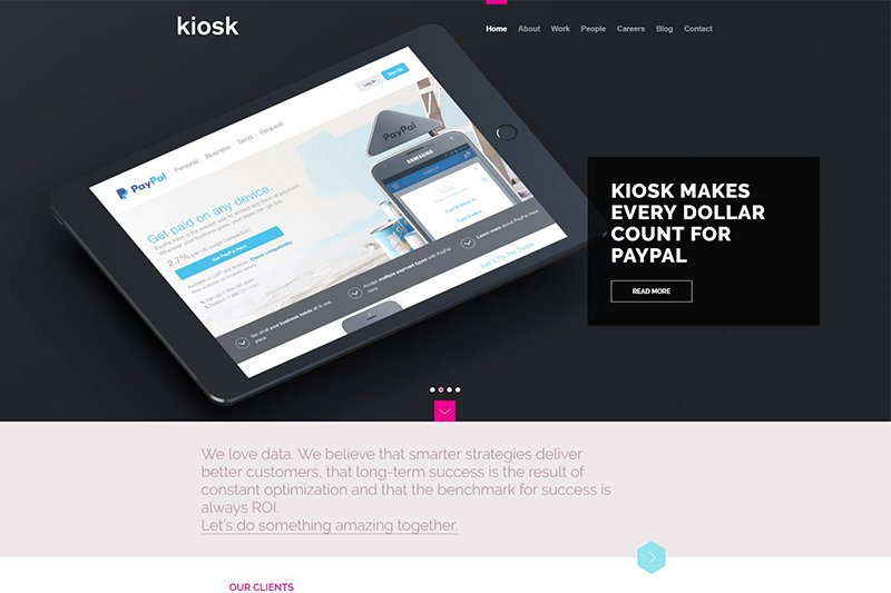Top digital marketing agency in the UK, USA and Canada - Kiosk