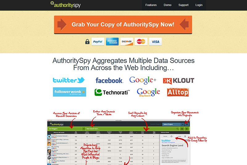 AuthoritySpy research tool