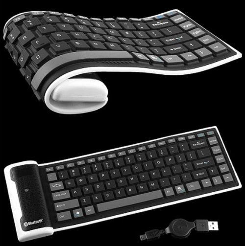Portable Keyboard Flexible Silicone