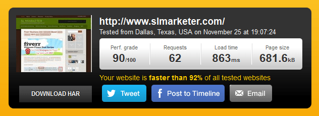 SLMarketer Pingdom Loading Time ඔයාගේ Website Loading Time එක අඩුකරගන්න වැදගත් හේතු 4ක්