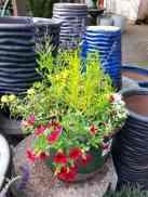 colorful custom planter