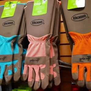 Boss Rose Gauntlet gloves will take care of any gardening job