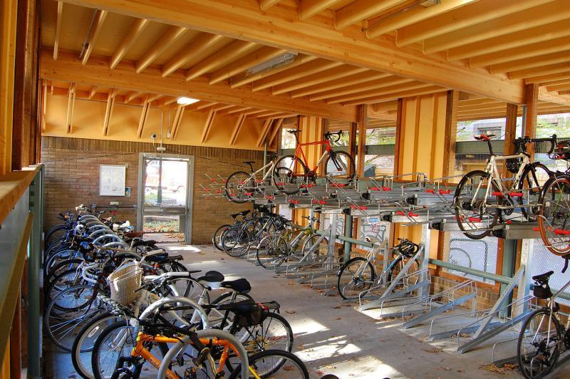 Montgomery St. Bicycle Garage