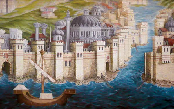 Constantinople_Mural_Fourth_Crusade 1204