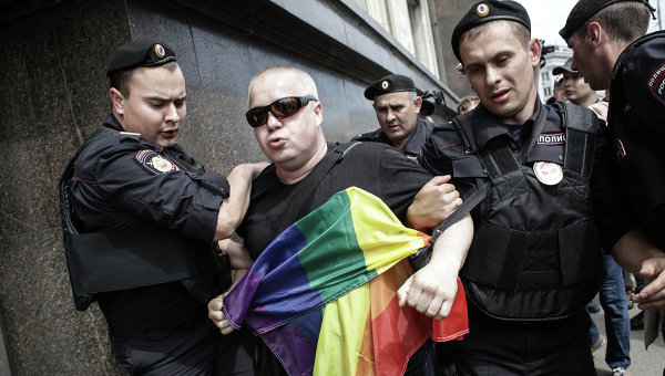 gay parada moskva rusija