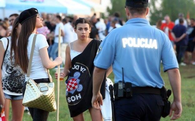 hos čavoglave policija za dom spremni zastava