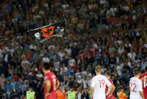 zastava Velike Albanije u Beogradu
