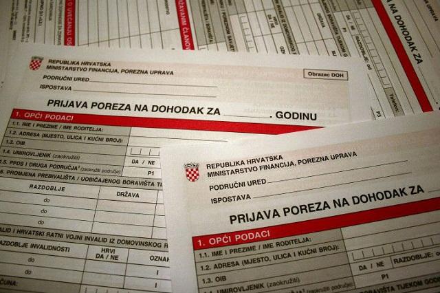 porezna prijava