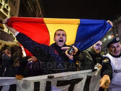 Rumunji prosvjeduju (izvor: Mediafax Foto / Andreea Alexandru)