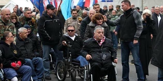 savska 66 prosvjed protiv branitelja branitelji đuro glogoški antiprosvjed