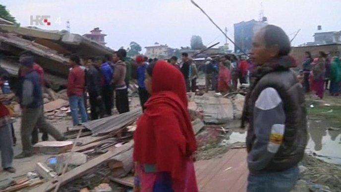 potres nepal
