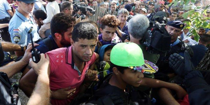 imigranti izbjeglice granica beli manastir