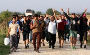 imigranti izbjeglice tovarnik sirija