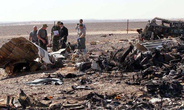 ruski zrakoplov sinaj egipat
