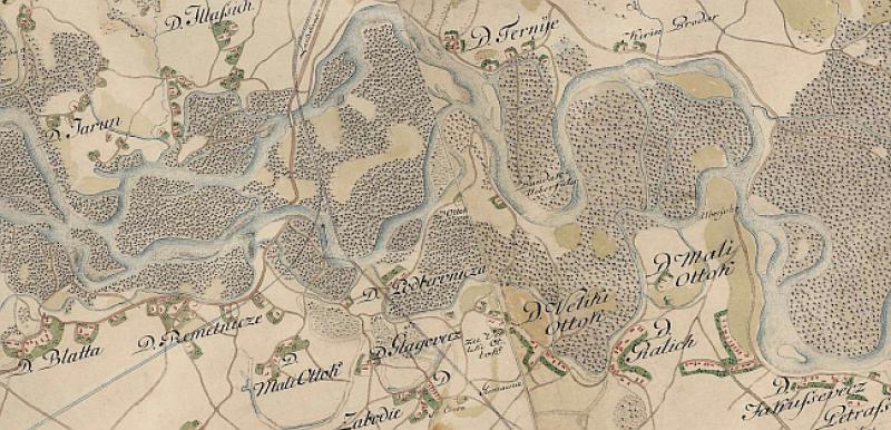 karta hrvatske habsburgovaca