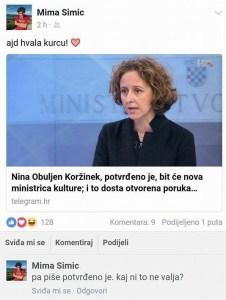 mima simić hasanbegović