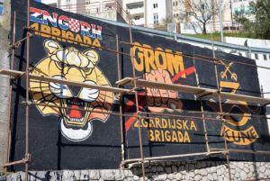 vlahušić, tordica, mural, hos, gardijske brigade, tigrovi, gromovi