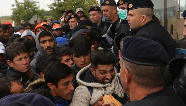 imigranti, policija, hrvatska policija, izbjeglice