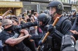 boston, antifa, antifašisti, ljevičari, sad, trump, neredi, prosvjed