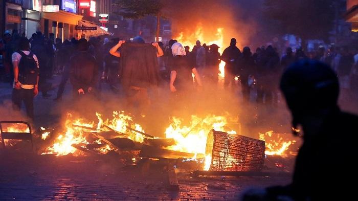 njemačka, antifašisti, antifa, ljevičari, ljevičarski ekstremizam
