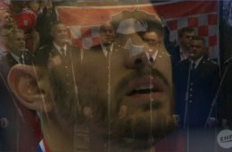 hrvatska himna, lijepa naša, klapa juraj, hrvatska srbija, split, rukometno prvenstvo
