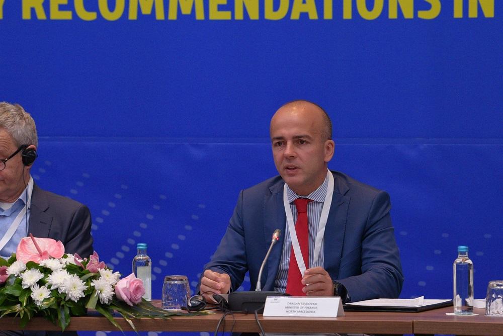 Тевдовски: Имаме најдобри резултати во спроведувањето на мерките од Програмата за економски реформи