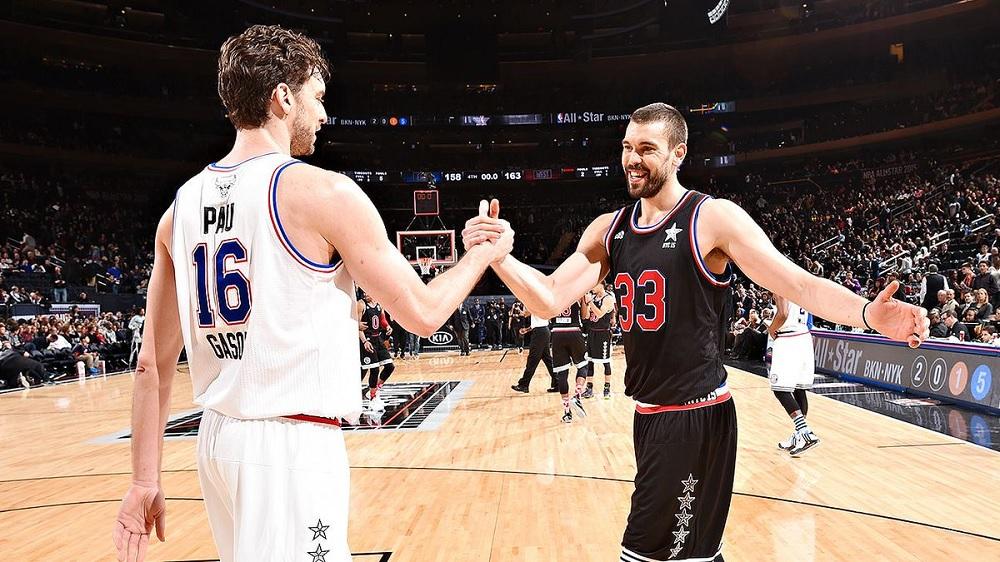 Пау и Марк Гасол – први браќа со НБА прстен