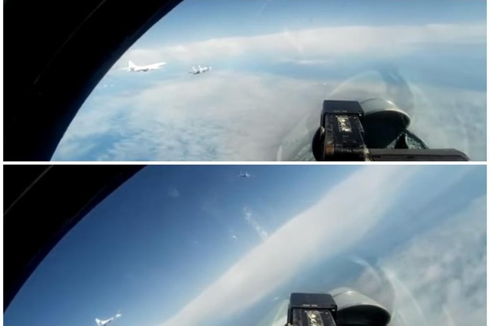 КАКО СЕ РАЗБЕГАА НАТО авионите по блиската средба со руските бомбардери над Балтичкото море!