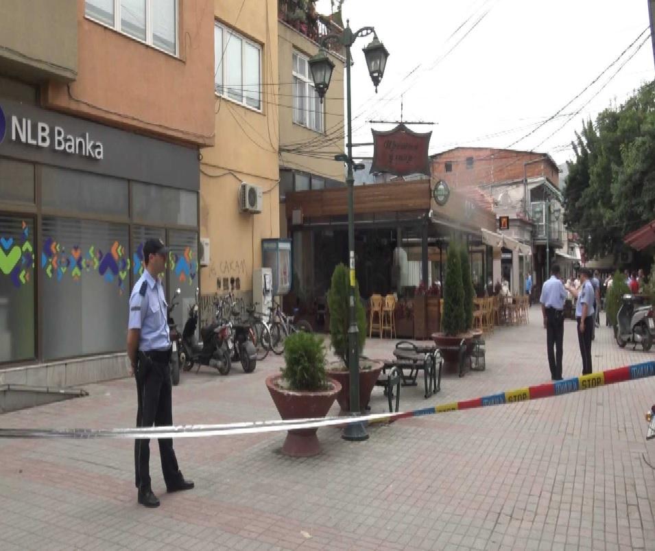 Рачната бомба фрлена во Прилеп се изгаснала пред да експлодира