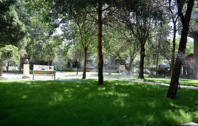 Уредени нови зелени површини во Скопје
