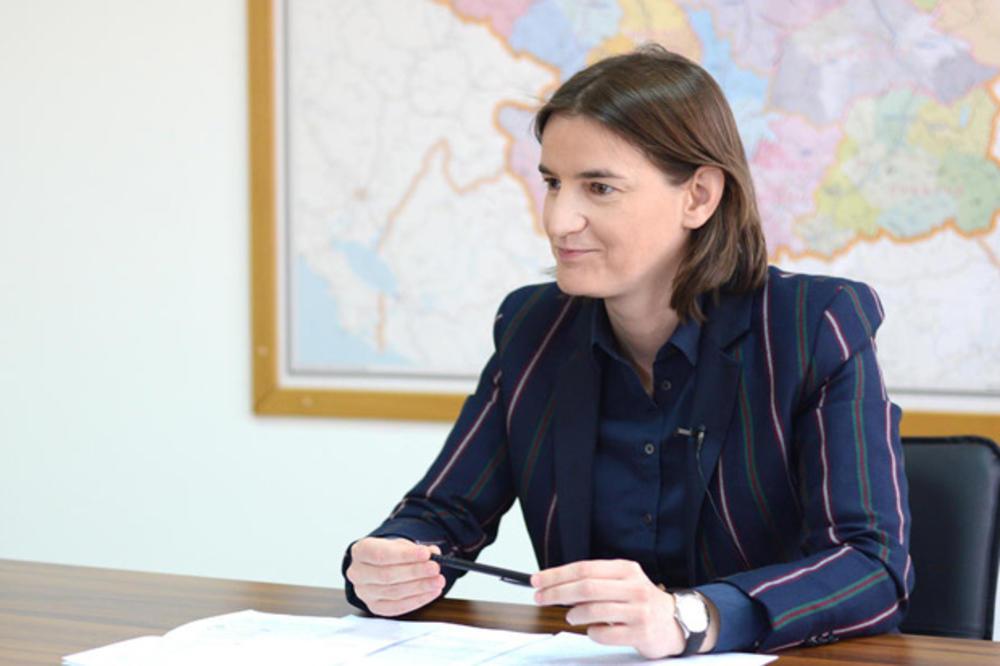 Брнабиќ: Не се согласувам со ултиматумот на студентите и не го менувам Синиша Мали
