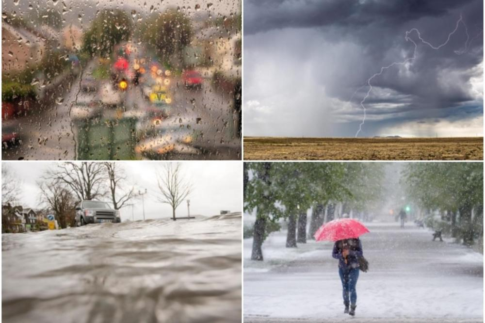 НЕ ЧЕКА КАТАСТРОФАЛНА ЕСЕН! Невреме, громови и поплави на Балканот