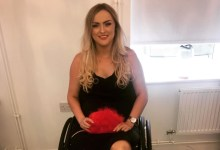 девојка парализирана