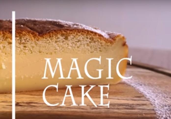 """Совршен десерт без многу мака, еве како да го подготвите познатиот """"Магичен колач"""""""