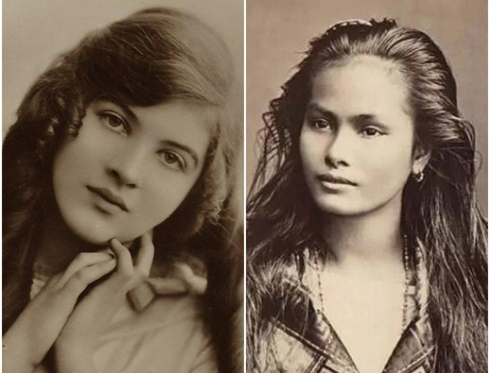 100 години стари фотографии: Најубавите жени на векот БЕЗ ФОТОШОП!