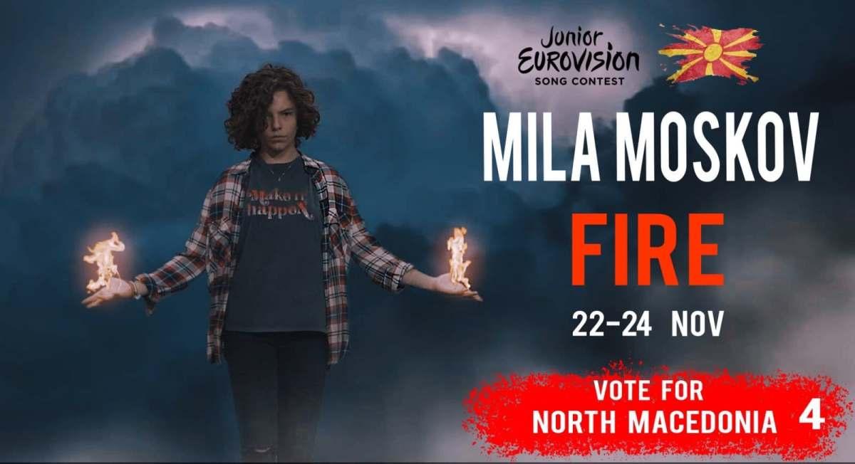 Може да гласаме за Македонија! Да ја поддржиме Мила Москов на детскиот Евросонг!
