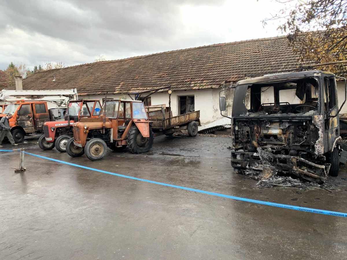 Се истражуваат причините за пожарот во комуналното претпријатие во Кочани