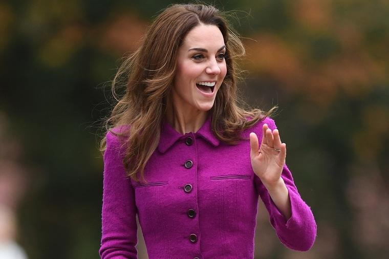 Виолетовата е дефинитивно нејзината боја: Кејт Мидлтон во никогаш подобро издание