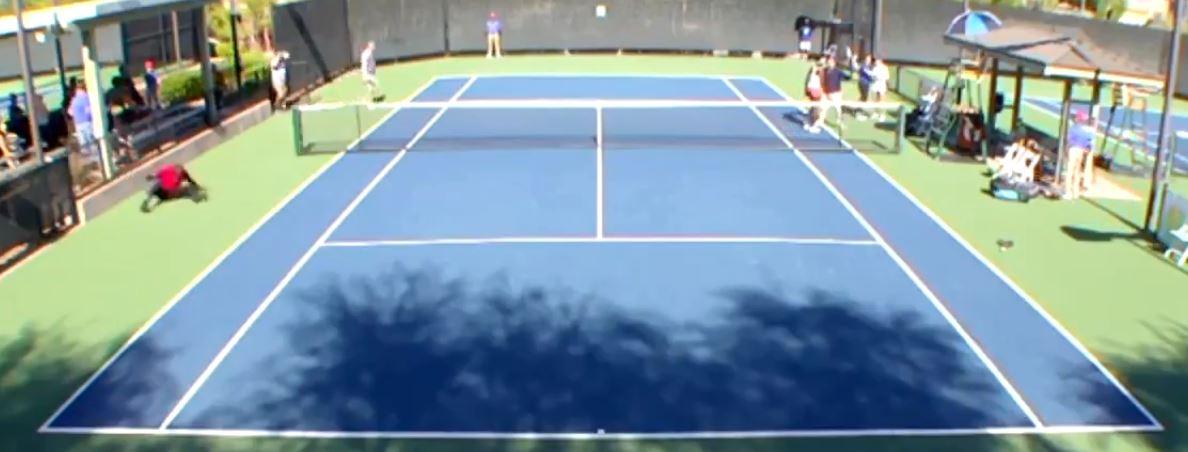 Тенисерки се степаа поради поздрав