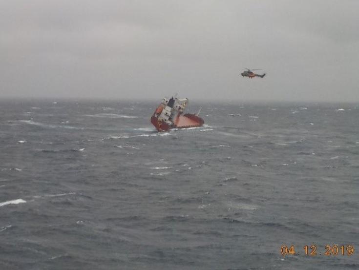 Спасувачка акција во Егејско море: Спасени 14 членови на екипаж