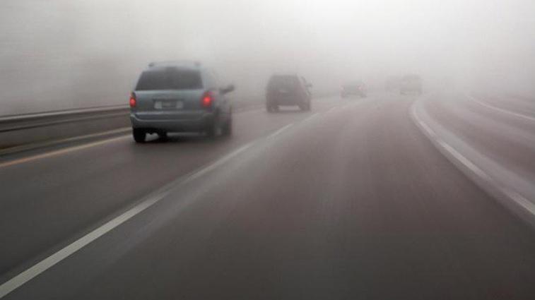 Прилагодете ја брзината: Магла на повеќе патни правци