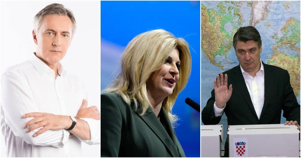 НОВА АНКЕТА ПРЕД ИЗБОРИТЕ ВО ХРВАТСКА: Милановиќ се поблиску до Колинда, расте поддршката за Шкоро