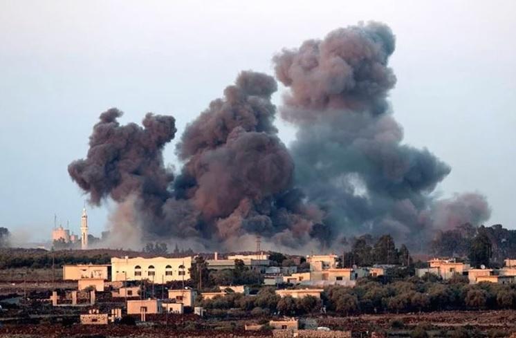 Воздушен напад во Сирија: Загинаа деветнаесет цивили