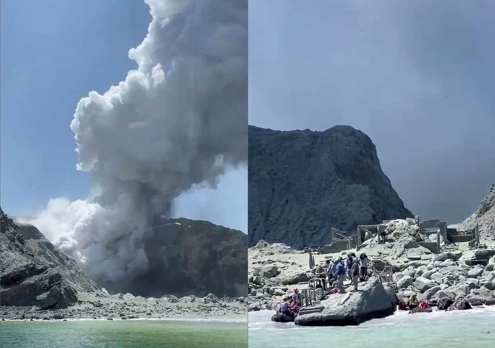 СЕ ЗГОЛЕМУВА БРОЈОТ НА ЖРТВИ: Осум мртви во ерупцијата на вулканот во Нов Зеланд