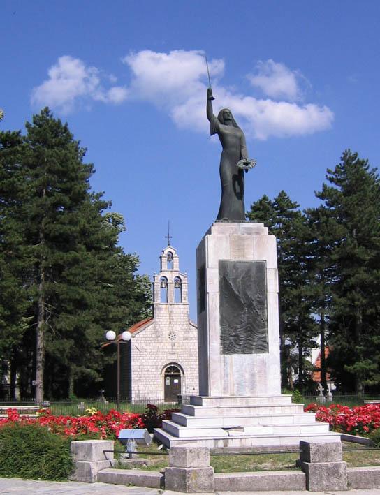 13. Vlasska crkva na Cetinju gde mitropolit Amfilohije obavio miropomazanje Mahmuta Bussatlije na