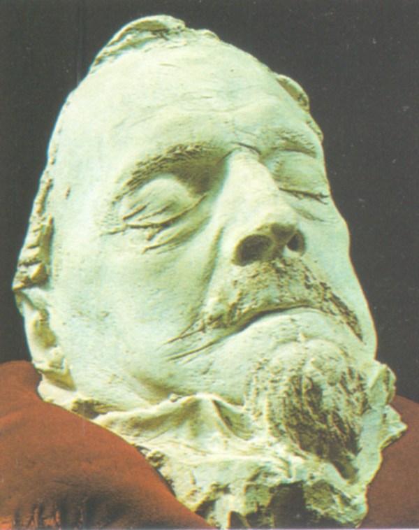 25.Posmrtna maska Mahmut - passe Bussatlije