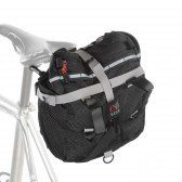 saddlebag that's way too big for a road bike