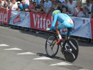 Sticks under tour de france riders seats