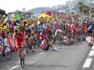Tour de France crash
